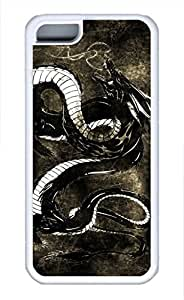 iPhone 5c case, Cute Dragon 2 iPhone 5c Cover, iPhone 5c Cases, Soft Whtie iPhone 5c Covers