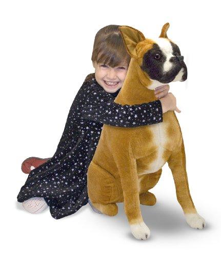 Melissa & Doug Giant Boxer -  Lifelike Stuffed Animal for sale  Delivered anywhere in USA