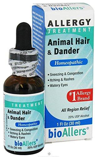 Animal Hair/Dander #703 BioAllers 1 oz Liquid by bioAllers (Image #1)