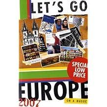 Let's Go 2007 Europe (International Edition)