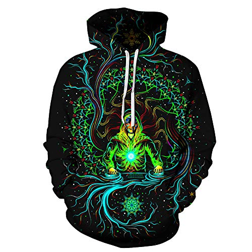 - SAINDERMIRA Unisex Fashion 3D Digital Galaxy Pullover Hooded Hoodie Sweatshirt Athletic Casual with Pockets (Piano, XX-Large/XXX-Large)