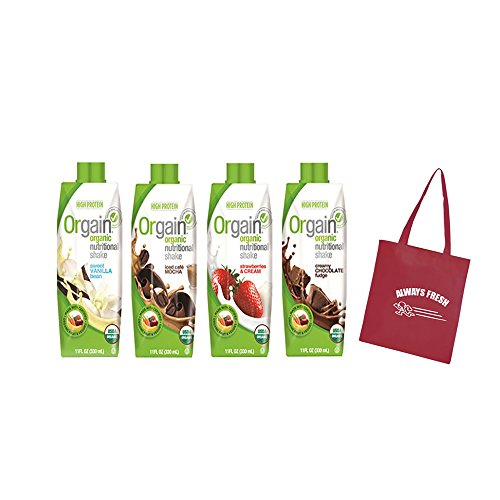 Orgain-Organic-Nutritional-Shakes-4-Flavors-11-Ounce-12-Count