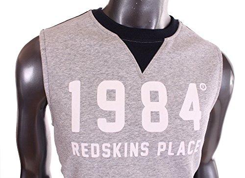 Redskins-Sudadera deportiva sin Mooney macnhes hombre sido 2015, color gris gris