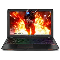 ASUS ROG Strix GL553VE 15.6'  Gaming Laptop GTX 1050Ti 4GB Intel Core i7-7700HQ 16GB DDR4 256GB SSD + 1TB 5400RPM HDD RGB Keyboard