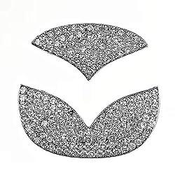 Bling Steering Wheel Logo Sticker for Mazda