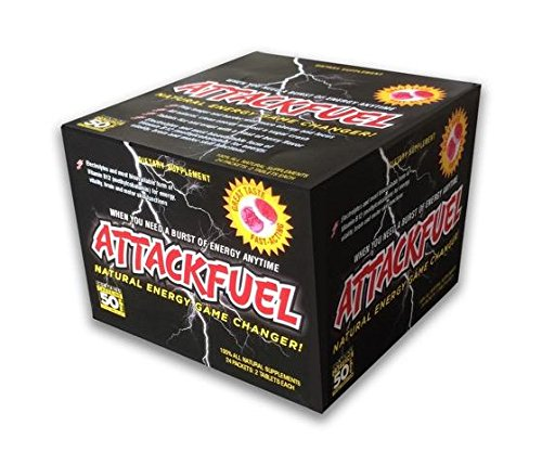 Attack Fuel-Natural Energy Game Changer Fast Dissolving Tablets