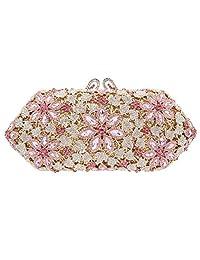 Fawziya Cherry Blossoms Crystal Purses And Handbags For Women Formal