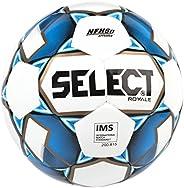 Select Sport Select Royale Soccer Ball, White/Blue, Size 5