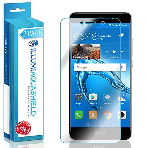 Huawei Ascend XT2 Screen Protector [2-Pack], ILLUMI AquaShield Full Coverage Screen Protector for Huawei Ascend XT2 HD Clear Anti-Bubble Film