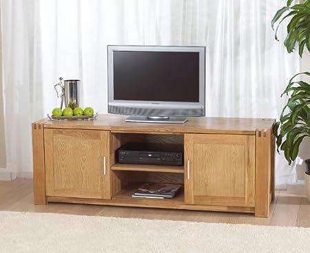 Windsor Roble Sala de Estar Muebles Mueble para televisor: Amazon.es: Hogar