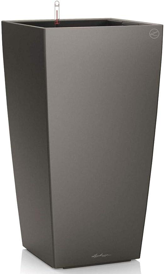 Lechuza Cubico Premium 40 Antracite Metallizzato Set Completo = All-in-One-Set