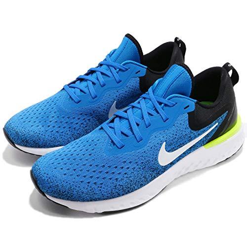 Nike Men's Odyssey React Running Shoes (7.5, Photo Blue/Black) by Nike (Image #8)