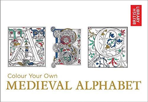 Colour Your Own Medieval (British Royal Seal)