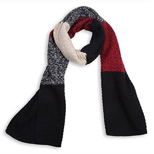 Unisex Winter Knitted Blanket Scarf