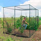 Gardman Walk-In Fruit Cage, Black, 76''H