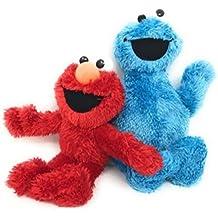 "Sesame Street Small Plush Pal - Elmo And Cookie Monster 9"" Set"