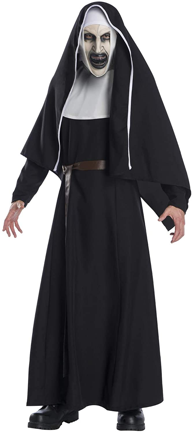 Amazon.com: Rubie's Scary The Nun Movie Deluxe Costume for Adults: Clothing