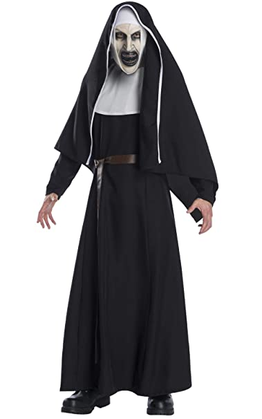 The Nun 2020 Review.Rubie S Scary The Nun Movie Deluxe Costume For Adults