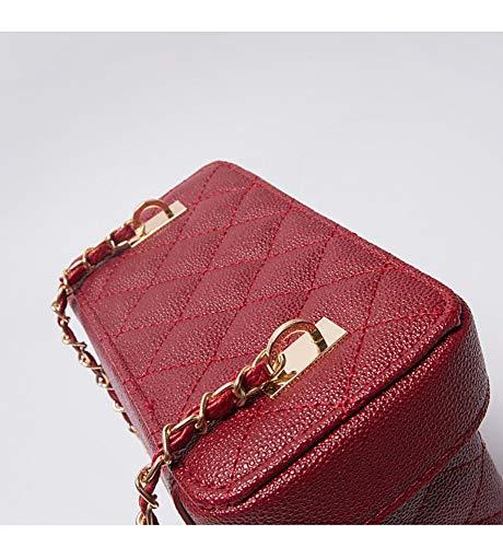 Hxkb Semplice A Di Rombico Messenger Spalla Crossbody Bag Tracolla Sacchetto Selvaggia Borsa Femminile Cosmetico qHZUwq