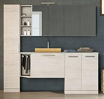 Dafnedesign Com Mobile Lavanderia Porta Lavatrice E Cesti Bucato