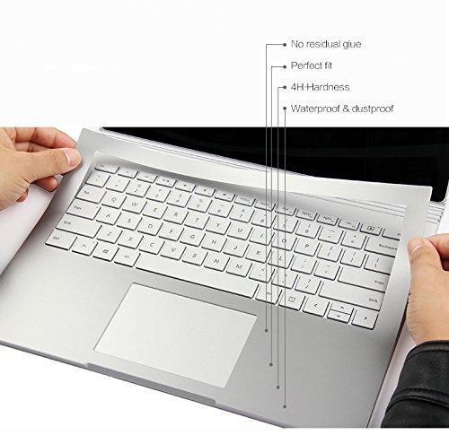 sikai sikai microsoft surface book skin brushed alumi