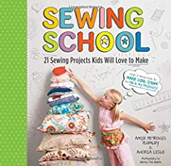 Kids can sew too! This inspiring guide includes 21 fun sewing projects for children ages 5 and up. With easy-to-follow illustrated instructions and cut-out patterns, young crafters will quickly be sewing up colorful pillows, p...