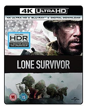 Amazon com: LONE SURVIVOR- (4K UHD + BD + UV) RT VER [Blu