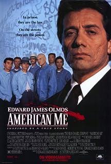 American Me Poster B 27x40 Edward James Olmos William Forsythe Pepe Serna