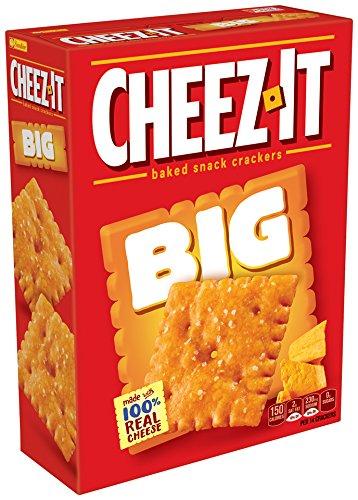 Amazoncom Cheez It Big Original 117 Ounce