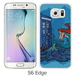 Custom Design Dr Who With Ariel White Case For Samsung Galaxy S6 Edge Phone Case Cool Design
