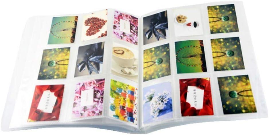 Jinshen /álbum de Fotos 288 Bolsillos 3 Pulgadas Bolsa de Almacenamiento para Fotos Fujifilm Instax Mini 9 8 70s 25 LiPlay Nombre Tarjetas Titular Tickets Collection