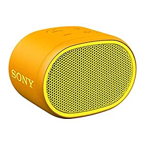 Sony SRSXB01Y Wireless Audio Speakers, Yellow, (SRSXB01Y)