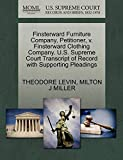 img - for Finsterward Furniture Company, Petitioner, v. Finsterward Clothing Company. U.S. Supreme Court Transcript of Record with Supporting Pleadings book / textbook / text book