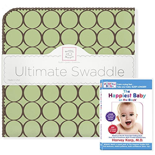 SwaddleDesigns Ultimate Winter Swaddle, X-Large Receiving Bl