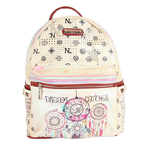 Nicole Lee 20 Inch Backpack, Dream Catcher, One Size (Laptop Backpack Nicole Lee)