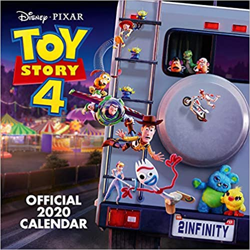 Official Square Wall Format Calendar Toy Story 4 2020 Calendar