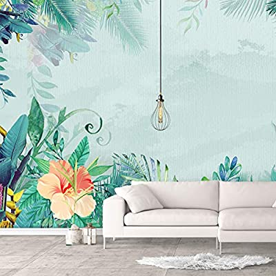 Charming Work of Art, With Expert Quality, Wall Murals for Bedroom Green Plants Animals Removable Wallpaper Peel and Stick Wall Stickers