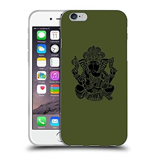 GoGoMobile Coque de Protection TPU Silicone Case pour // Q08150605 Hindou 6 armée verte // Apple iPhone 7