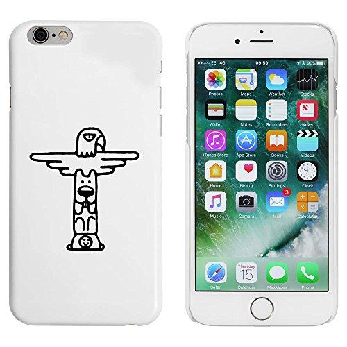 Blanc 'Totem' étui / housse pour iPhone 6 & 6s (MC00085549)