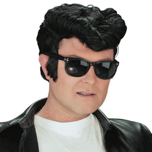 1950's Greaser Costume (Adult 1950s Greaser Wig)