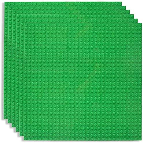 Large Building Base for Kids and Adults General Jim/'s Classic Green Baseplate for Brick Building Creations 8 Pieces 10in x 10in