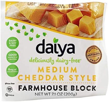 Daiya, Cheddar Style Wedge, 7.1 Ounce