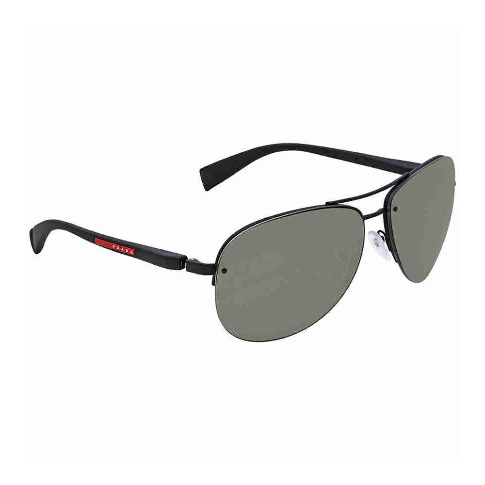 9e2bece28 Prada Linea Rossa Men's PS 56MS Sunglasses 65mm at Amazon Men's Clothing  store: