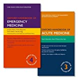img - for PACK OF OXFORD HANDBOOK OF EMERGENCY MEDICINE AND OXFORD HANDBOOK OF ACUTE MEDICINE (Oxford Handbooks) book / textbook / text book