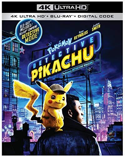 Detective Pikachu (4K + Blu-Ray) (Bilingual)
