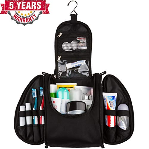 Travel Hanging Toiletry Bag Compartments