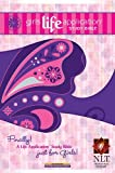 img - for Girls Life Application Study Bible NLT, Butterfly (2010-03-01) book / textbook / text book
