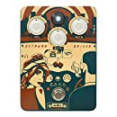 Orange Getaway Driver Overdrive '70s Amp-In-A-Box Pedal