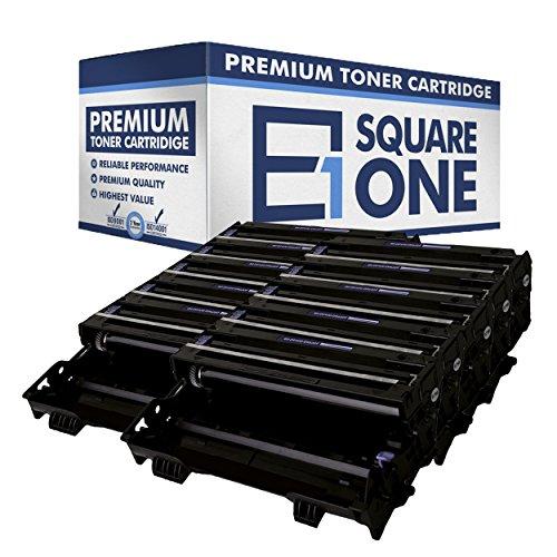Drum Dr6000 - eSquareOne Reman Drum Unit Replacement for Brother DR400 DR6000 (Black, 10-Pack)
