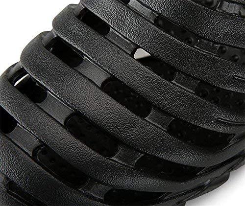 coloré Demi Chaussures 40 Eaux Eu chaussures Trou Sandales Gué Oudan Plage De Respirantes 40 Pour Paresseux Froides Hommes Noir Taille H8n6XqR